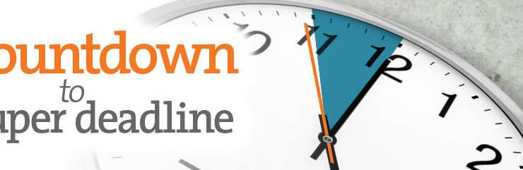 Countdown to Super Deadline