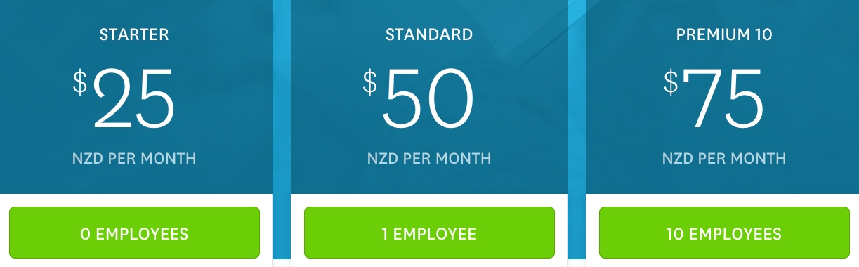 New Zealand Payroll Pricing 1